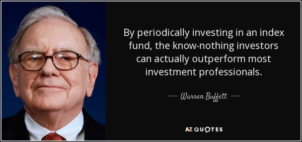 Warren Buffett-indexfonder