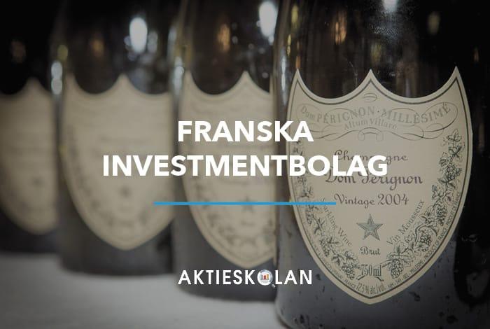 Franska investmentbolag
