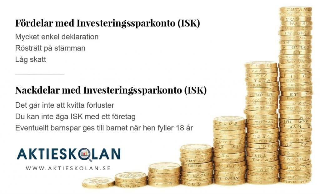 Investeringssparkonto (ISK) eller Kapitalförsäkring (KF)