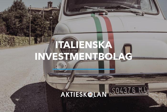 Italienska investmentbolag