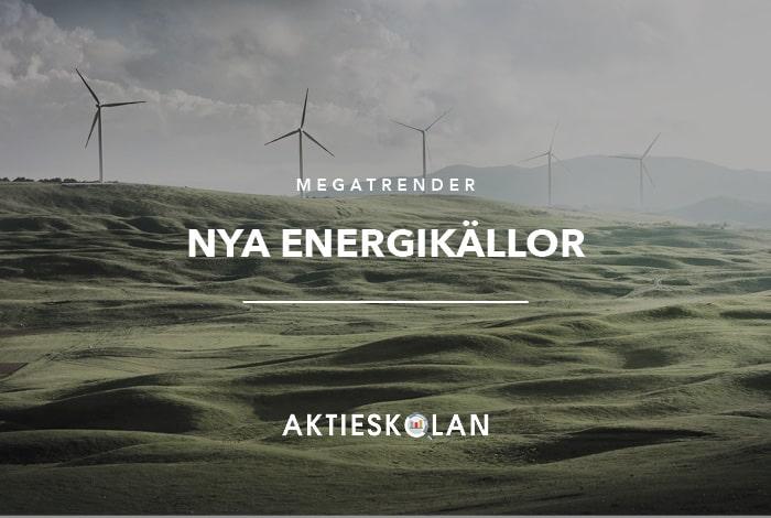 Megatrender - Energikällor