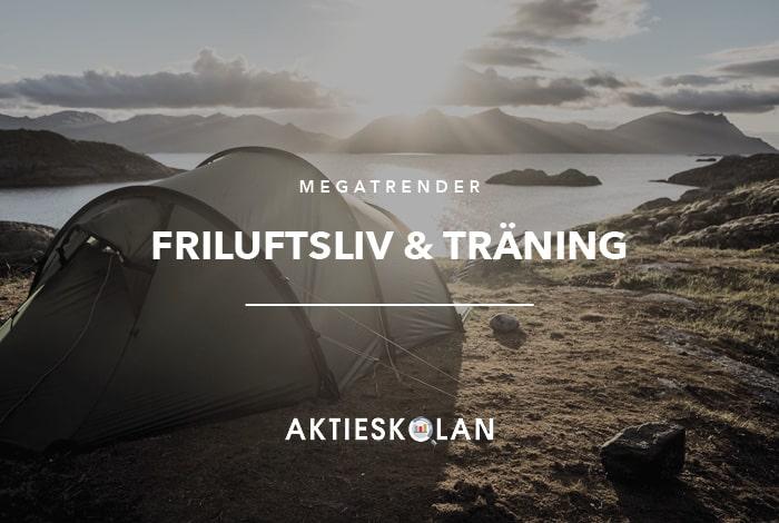 Megatrender - Friluftsliv och träning