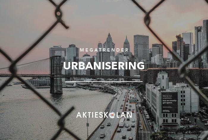 Megatrender - urbanisering