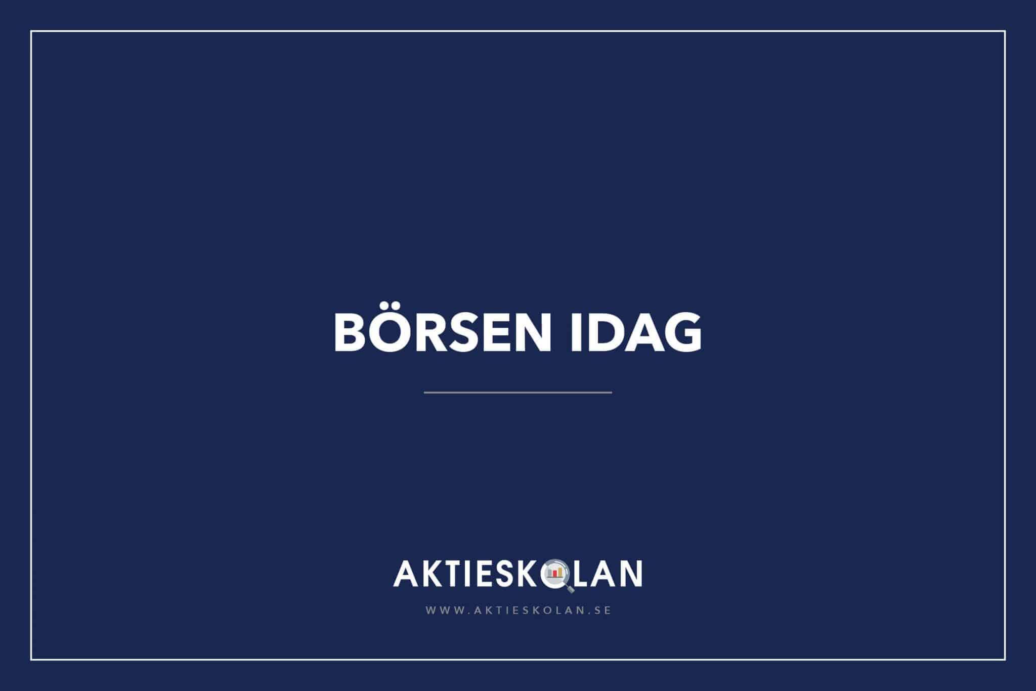 Borsen Idag Utvecklingen Pa Varldens Borser Liveuppdatering