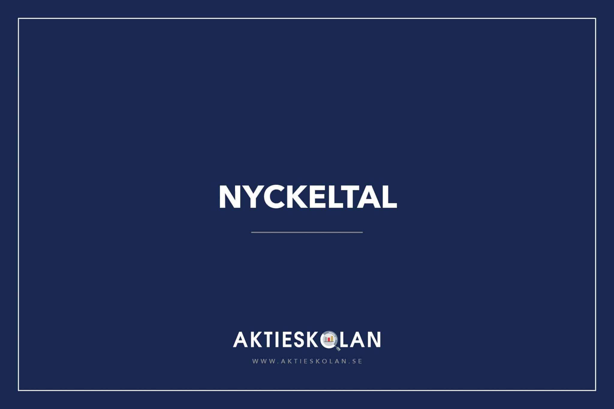 Nyckeltal - Aktieskolan
