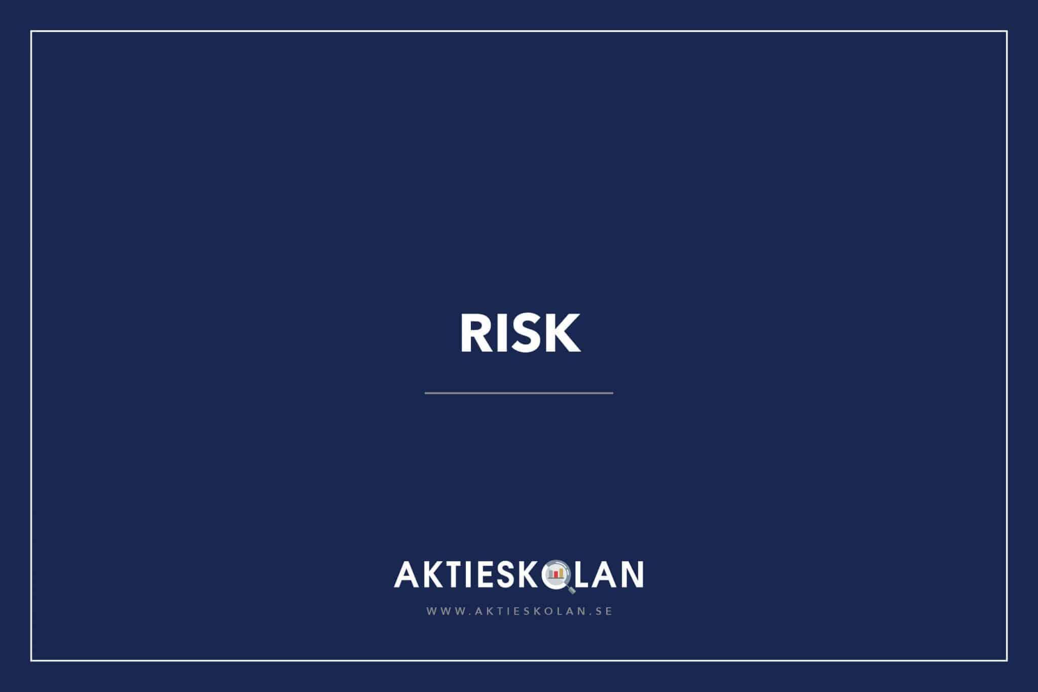 Risk på börsen