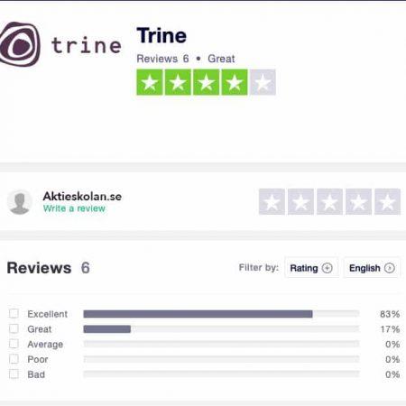 Trine omdöme-recension-erfarenhet